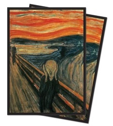 Obal UltraPRO STANDARD 65ks Fine Art - The Scream