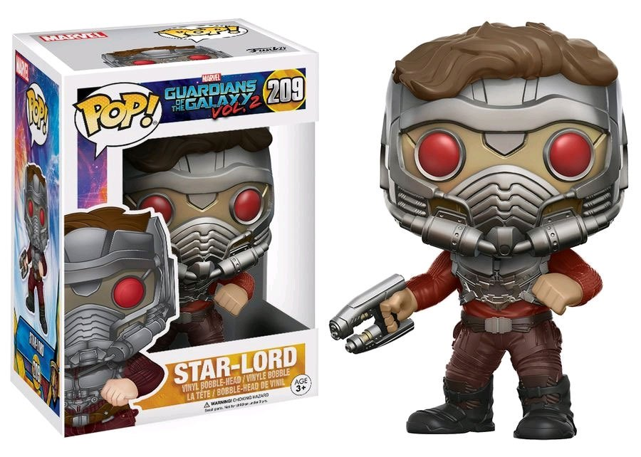 Funko POP: Guardians of the Galaxy 2 - Star Lord Masked 10 cm