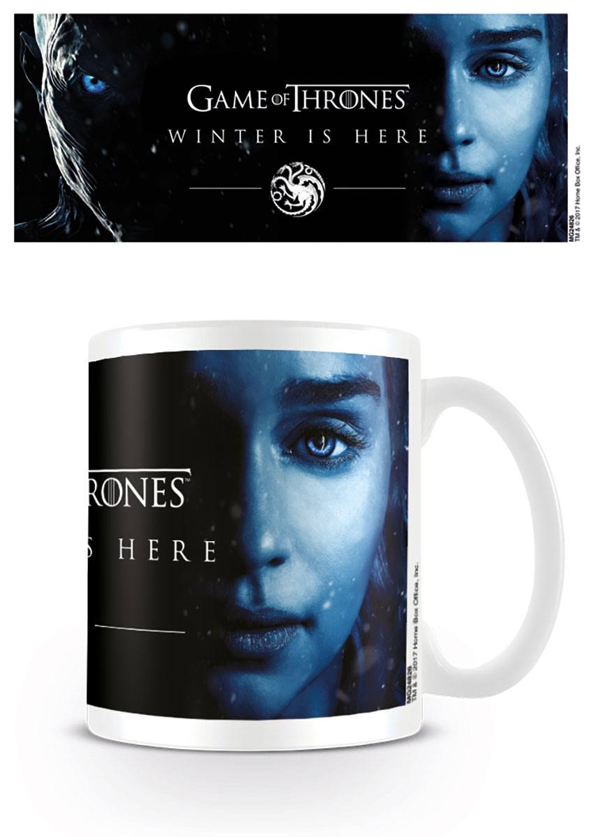 Šálka Game of Thrones Mug Winter Is Here - Daenerys