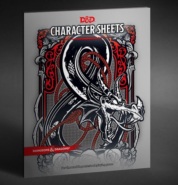 Dungeons & Dragons: Character Sheets EN