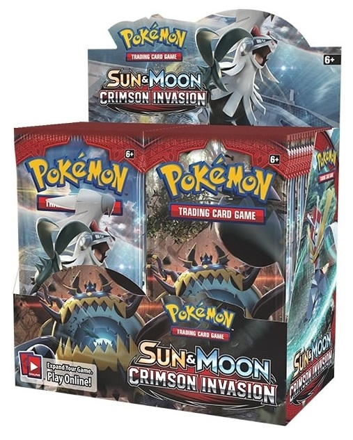 Pokémon TCG: Sun & Moon 4 Crimson Invasion BOOSTER BOX