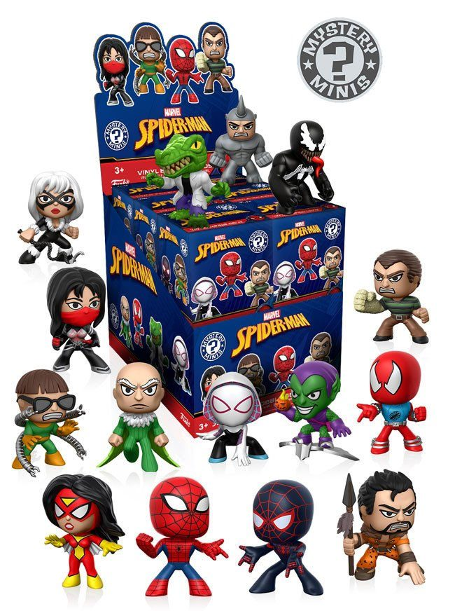 Mystery Minis - Classic Spider-Man  (1ks)