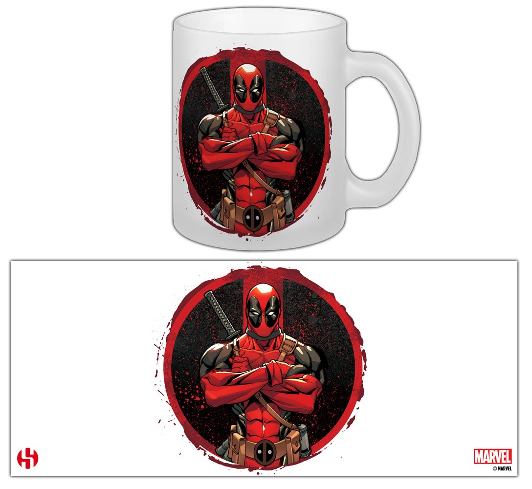 Šálka Marvel Comics Mug Deadpool The Merc