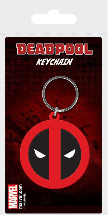 f53e7574b DROBNOSTI   Kľúčenka Deadpool Symbol Rubber Keychain 6 cm ...