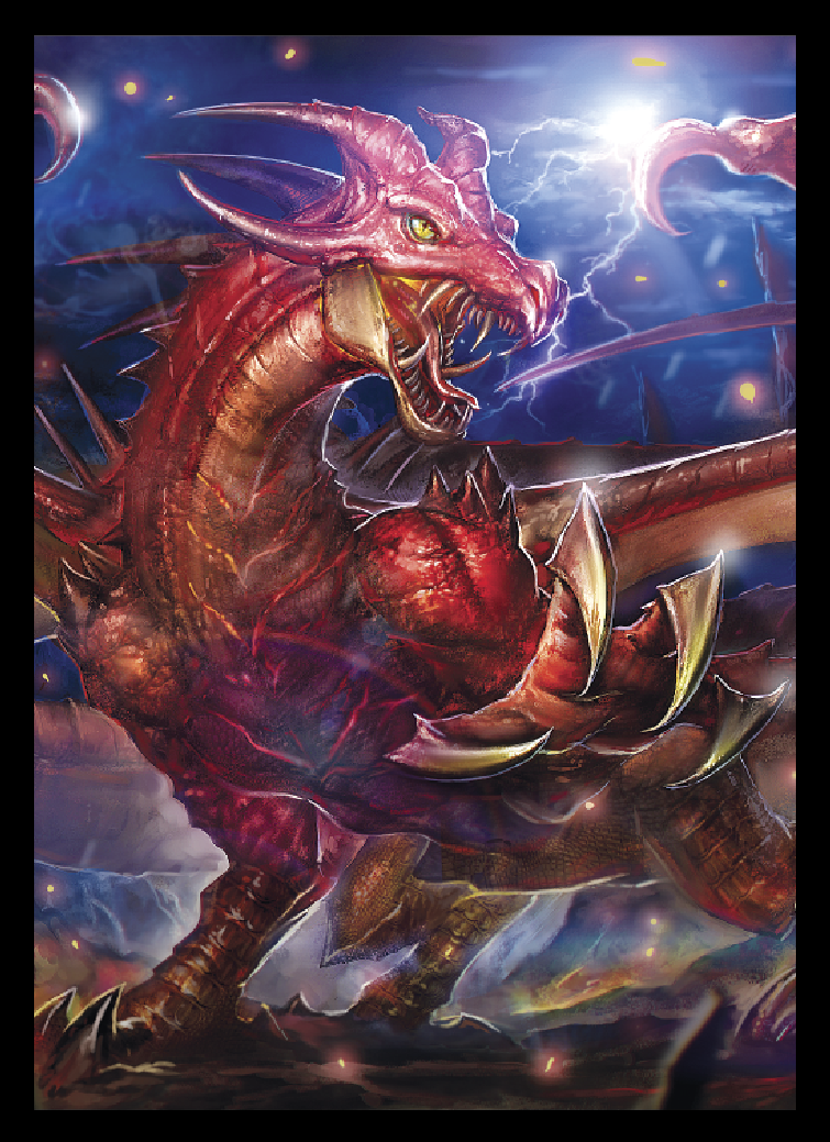 Obal LEGION 60ks Matte - EPIC Draka, Dragon Tyrant