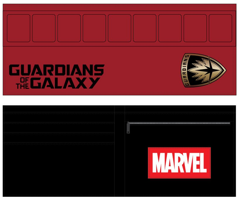 Peňaženka Guardians of the Galaxy Vol. 2 Wallet Logo