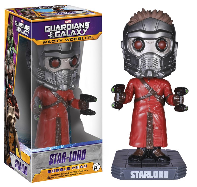 Guardians of the Galaxy Wacky Wobbler Bobble-Head Star-Lord 18 cm
