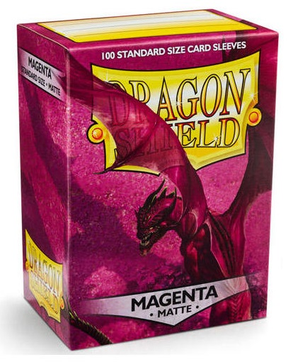 Obal Dragon Shield 100ks MATTE - magenta