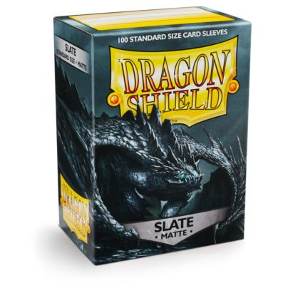 Obal Dragon Shield 100ks MATTE - slate