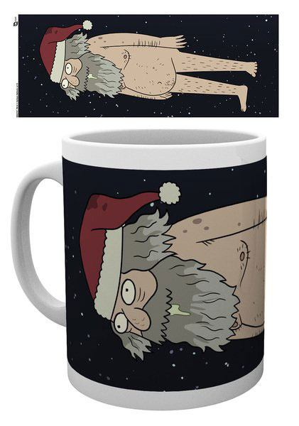 Šálka Rick and Morty Mug XMAS Ruben