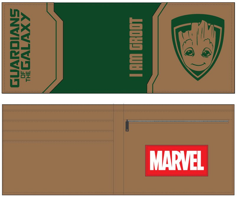 Peňaženka Guardians of the Galaxy Vol. 2 Wallet I Am Groot
