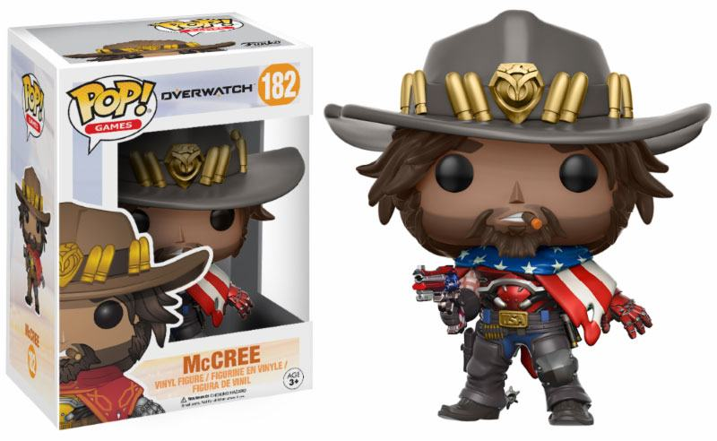 Funko POP: Overwatch - McCree (USA) 10 cm