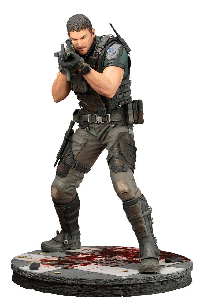 18/09 Resident Evil: Vendetta Statue 1/6 Chris Redfield 29 cm