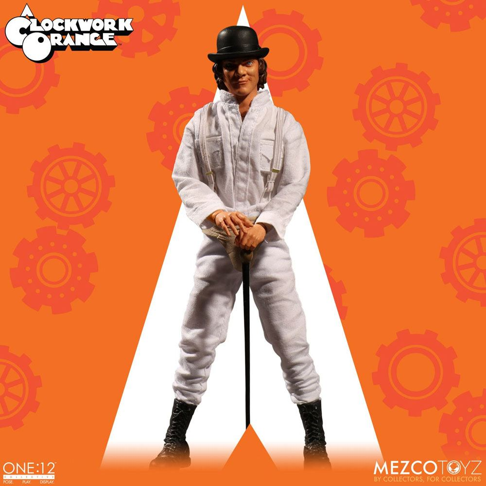 18/12 A Clockwork Orange Action Figure 1/12 Alex DeLarge 17 cm