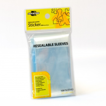 Obal Board Game Sleeves BF 52x67 mm, Sticker, Reseleable