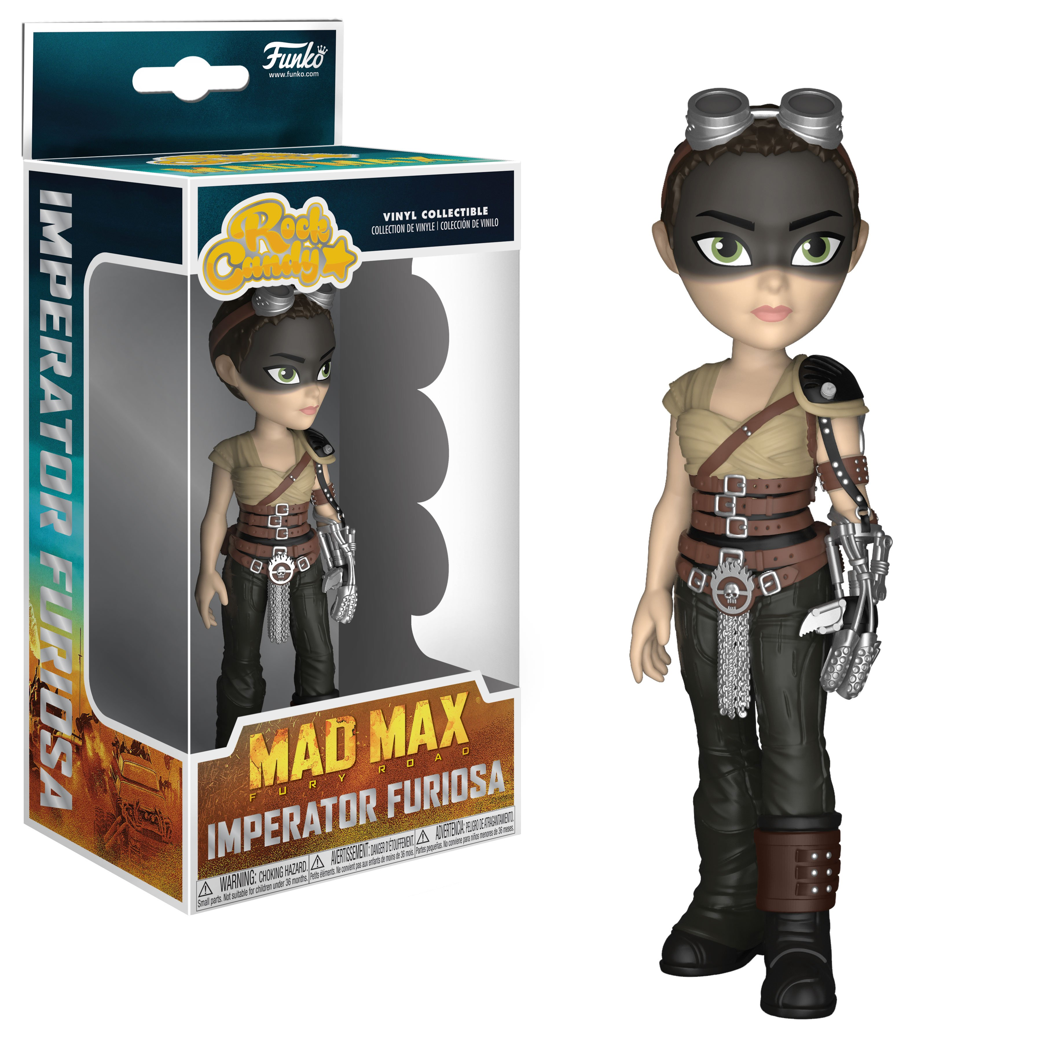 Funko Rock Candy - Mad Max - Furiosa 13 cm