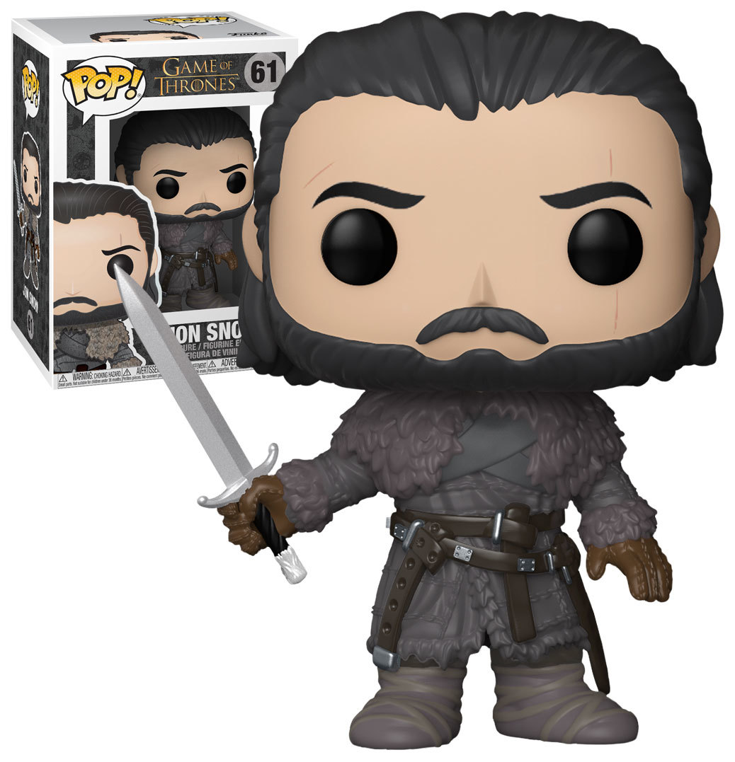 Funko POP: Game of Thrones - Jon Snow (Beyond the Wall)  10 cm