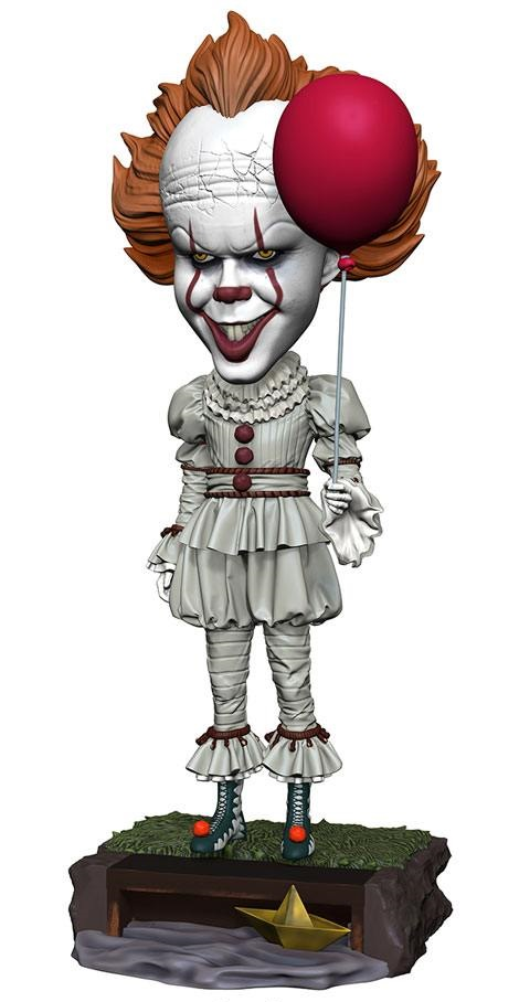 18/10 Stephen King's It 2017 Head Knocker Bobble-Head Pennywise 20 cm