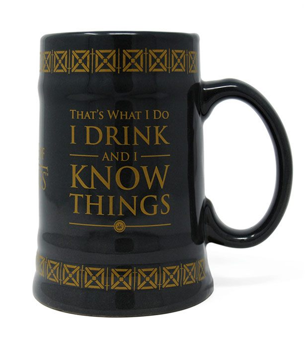 Pohár Game of Thrones Stein Drink & Know Things