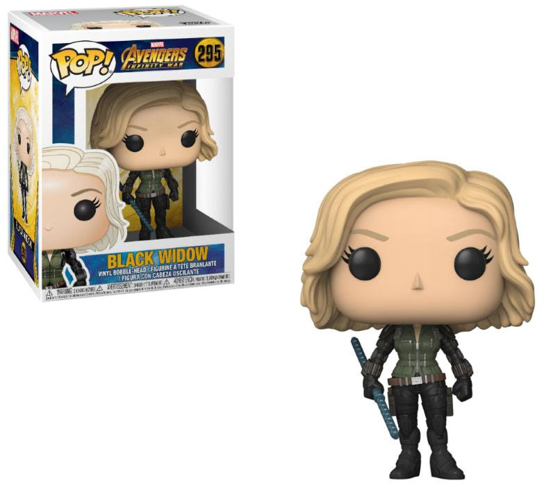 Funko POP: Avengers Infinity War - Black Widow 10 cm