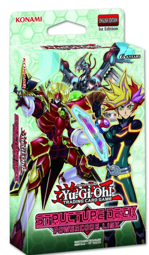 Yu-gi-oh TCG: Structure Deck - Powercode Link