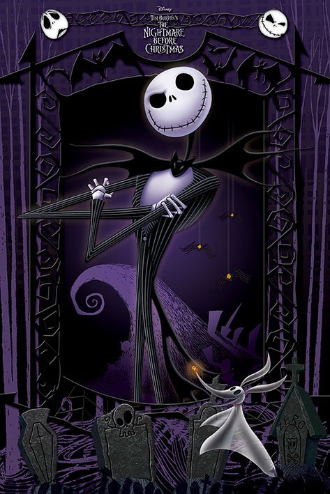 Plagát Nightmare Before Christmas Poster It's Jack 61 x 91 cm