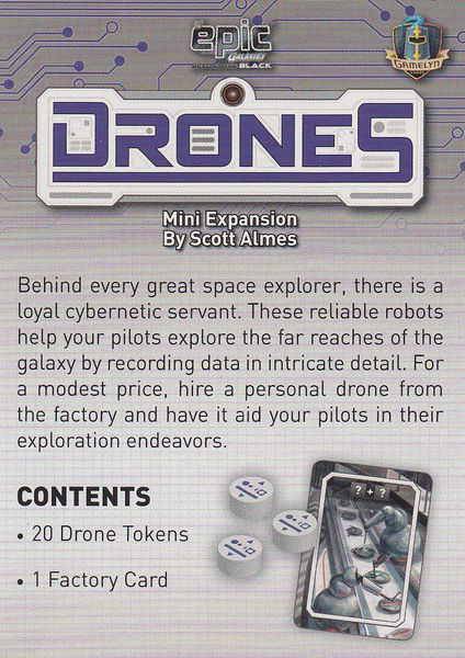 Tiny Epic Galaxies: Beyond The Black - Drones