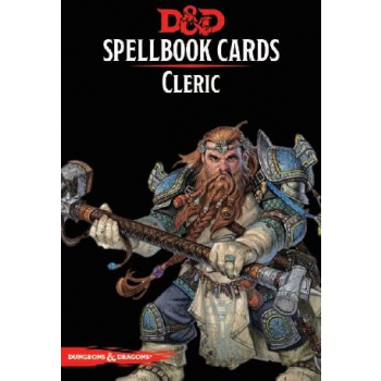 Dungeons & Dragons: Spellbook Cards - Cleric (153 Cards)