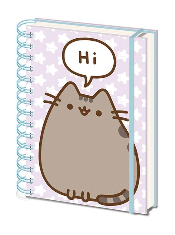 Zápisník - Pusheen Wiro Notebook A5 Pusheen Says Hi