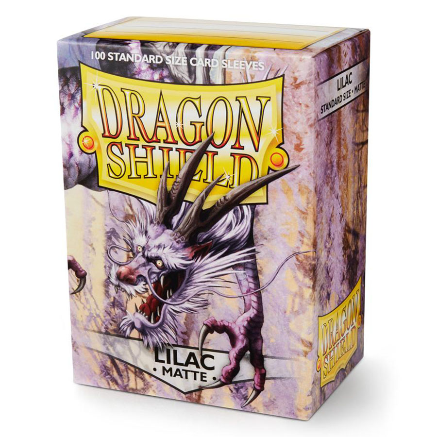 Obal Dragon Shield 100ks MATTE - Lilac