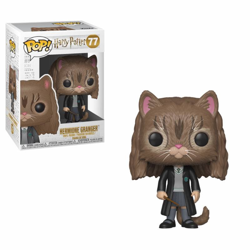 Funko POP: Harry Potter - Hermione as Cat 10 cm
