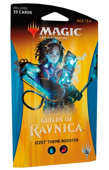Magic The Gathering TCG: Guilds of Ravnica THEME BOOSTER - Izzet