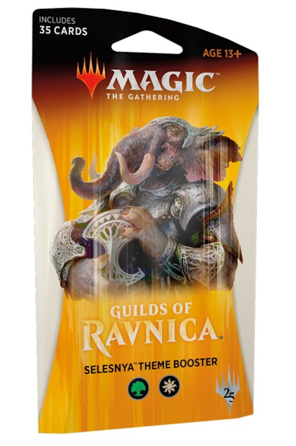 Magic The Gathering TCG: Guilds of Ravnica THEME BOOSTER - Selesnya