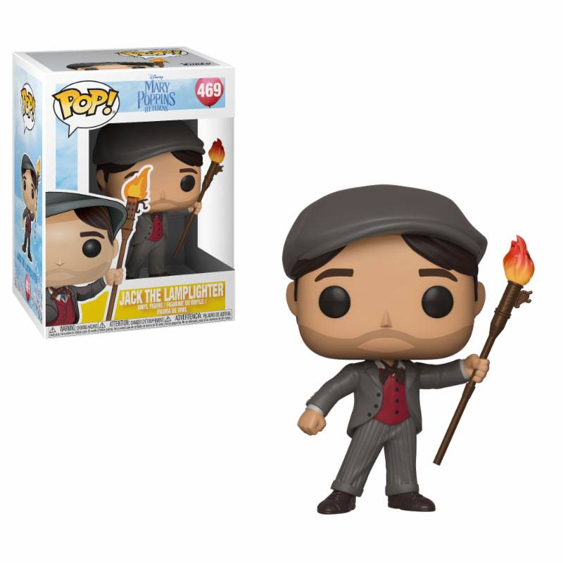 Funko POP: Mary Poppins 2018 - Jack the Lamplighter 10 cm