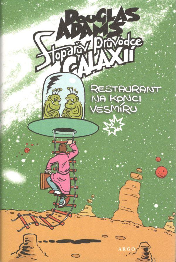 Kniha Restaurant na konci vesmíru (Douglas Adams)