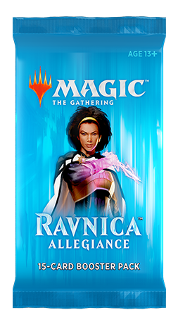 Magic the Gathering TCG: Ravnica Allegiance - Booster Pack