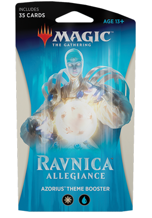 Magic the Gathering TCG: Ravnica Allegiance - Theme Booster AZORIUS
