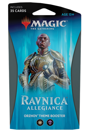 Magic the Gathering TCG: Ravnica Allegiance - Theme Booster ORZHOV