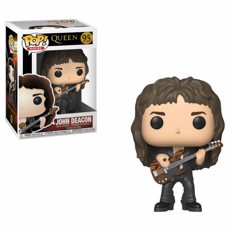 Funko POP: Rocks - Queen - John Deacon 10 cm
