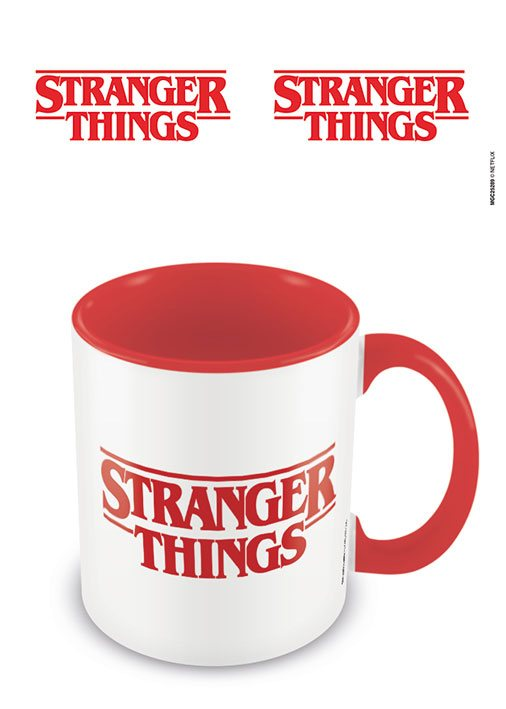 Šálka Stranger Things Coloured Inner Mug Logo