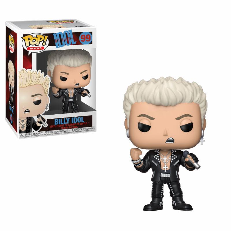 Funko POP: Rocks - Billy Idol 10 cm