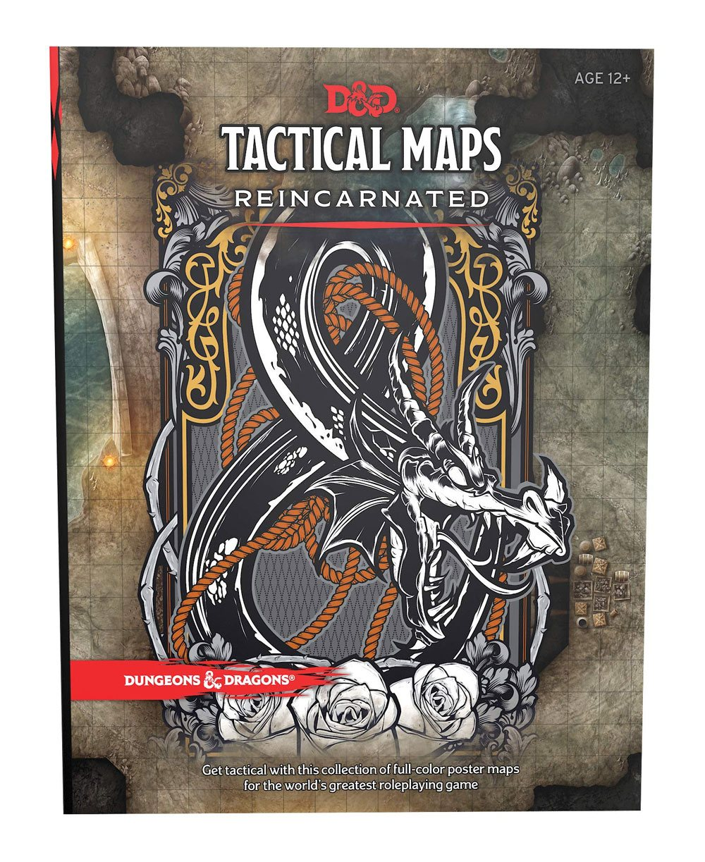 Dungeons & Dragons RPG Tactical Maps Reincarnated EN