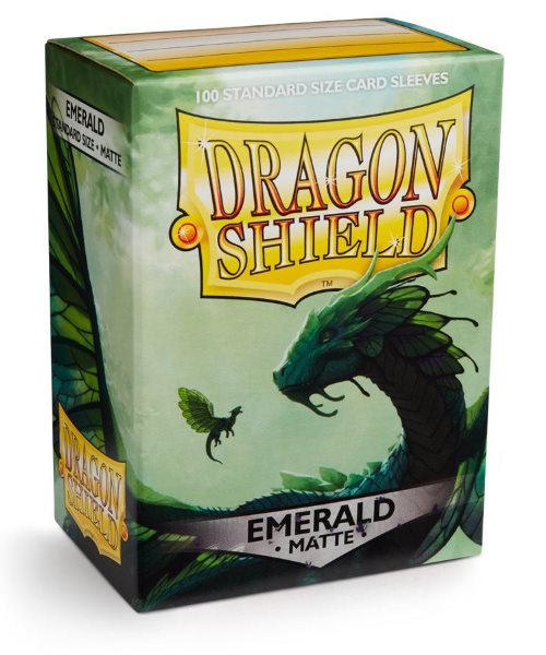 Obal Dragon Shield 100ks MATTE - EMERALD