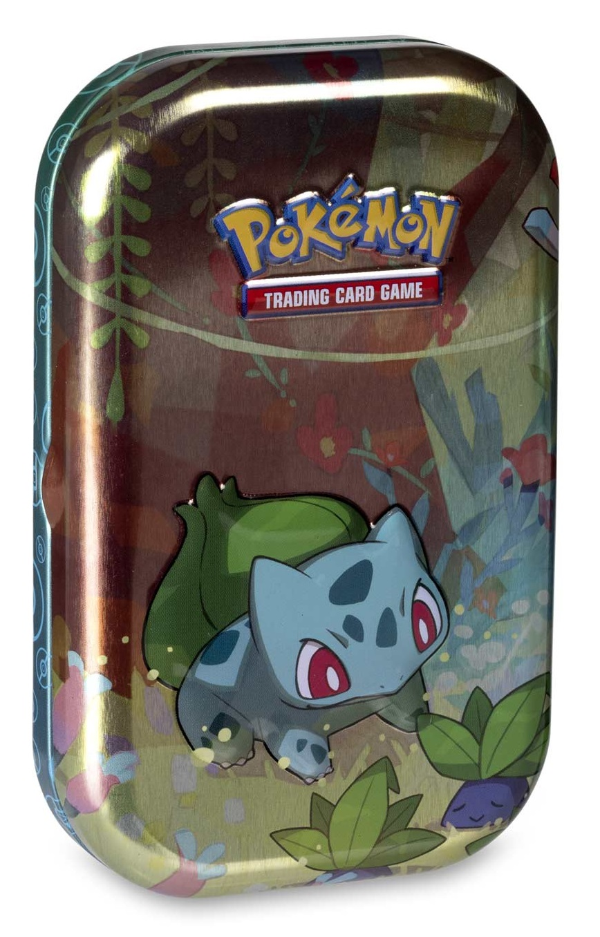 Pokémon TCG: Kanto Friends Mini Tin - Bulbasaur