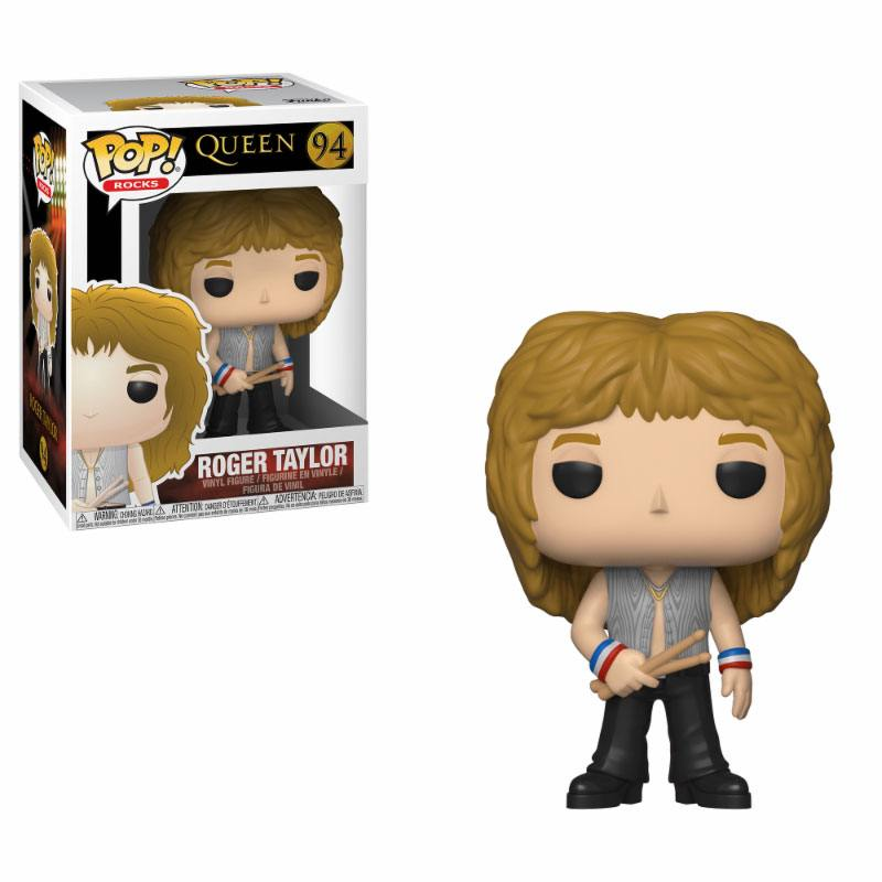 Funko POP: Rocks - Queen - Roger Taylor 10 cm