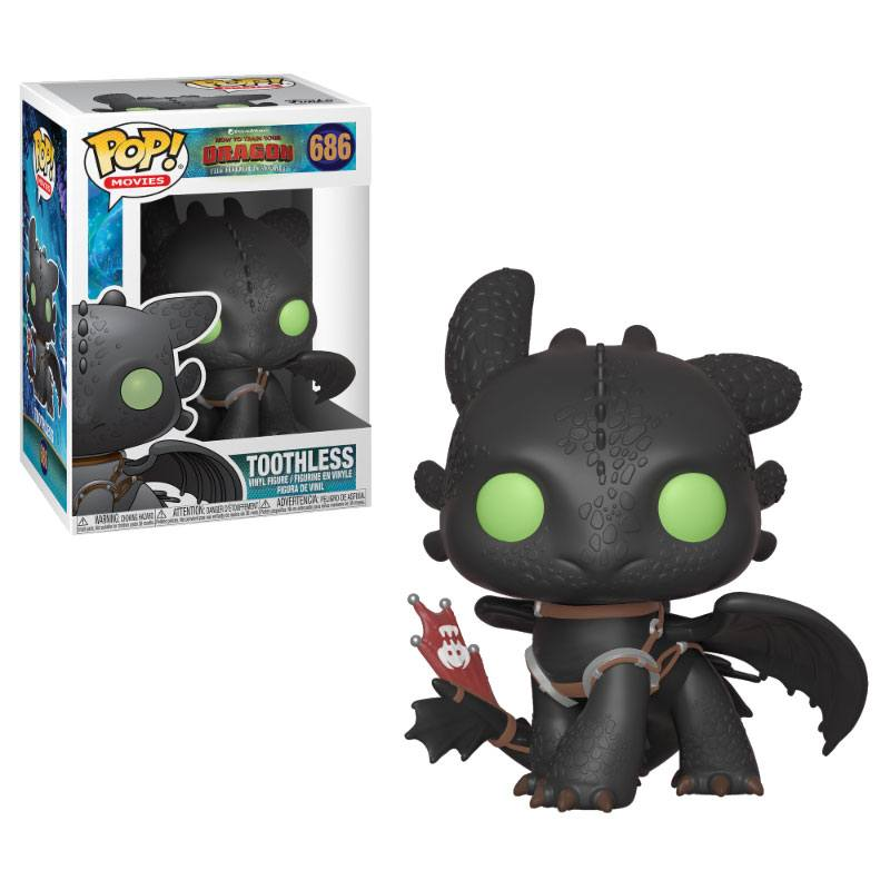 Funko POP: How to Train Your Dragon 3 - Toothless 10 cm