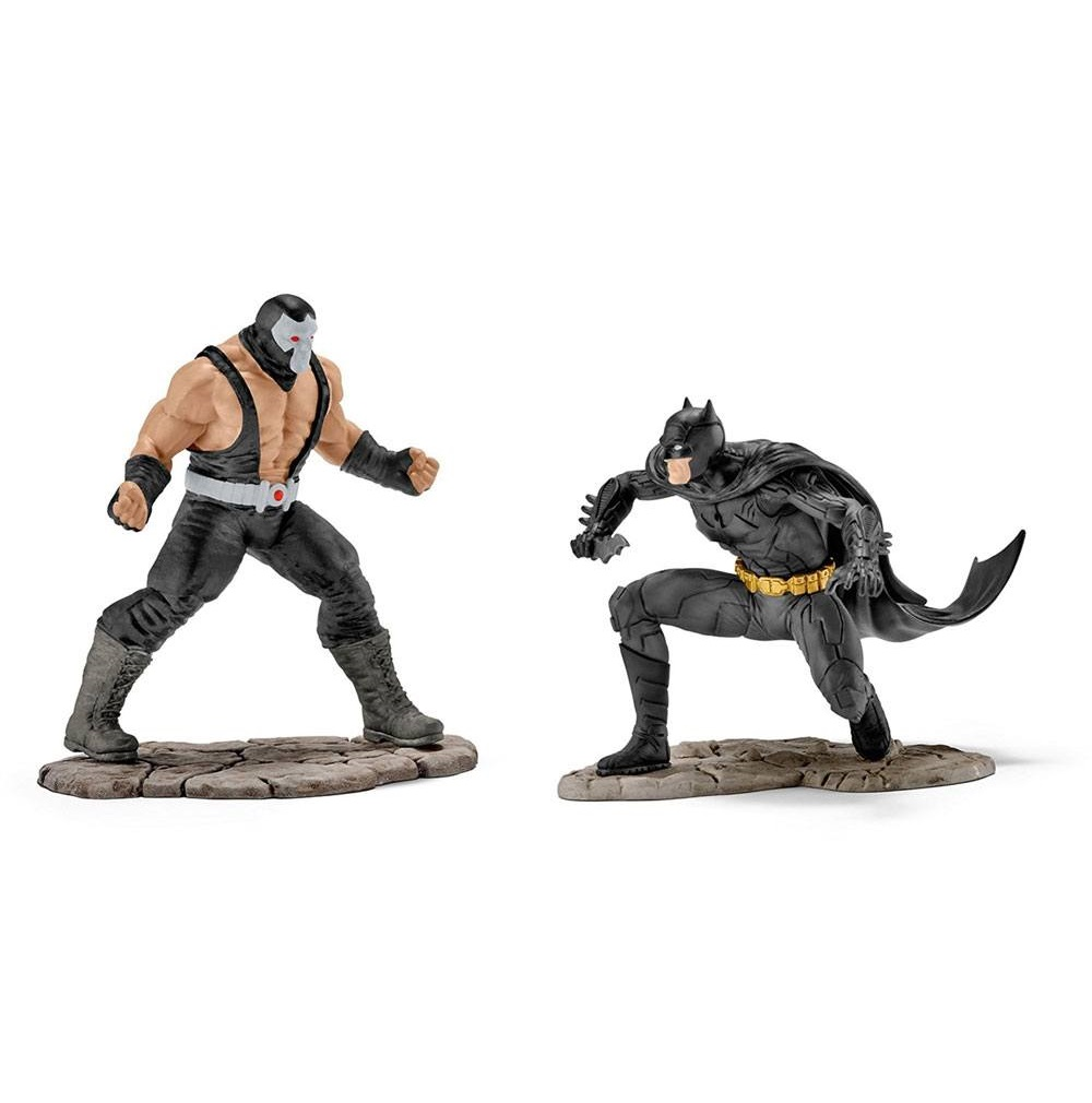 Justice League Figure 2-Pack Batman vs. Bane 10 cm