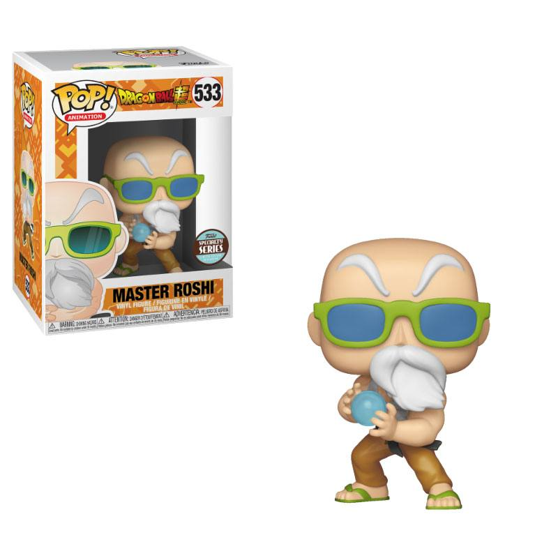 Funko POP: Dragonball - Speciality Series Master Roshi (Max Power)