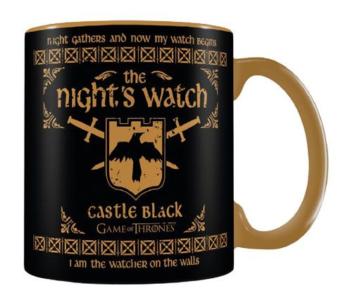 Šálka Game of Thrones Mega Mug The Night's Watch
