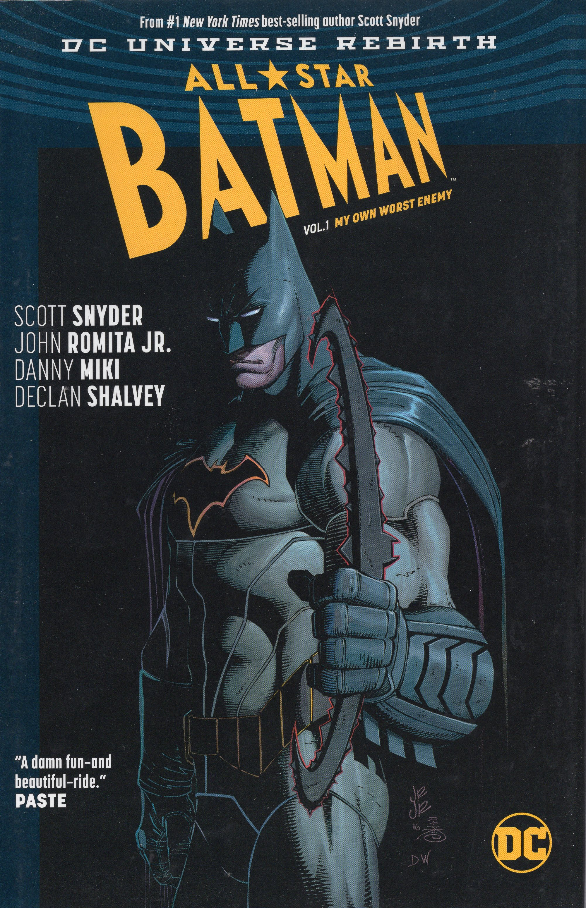 A - All Star Batman Vol 1 My Own Worst Enemy